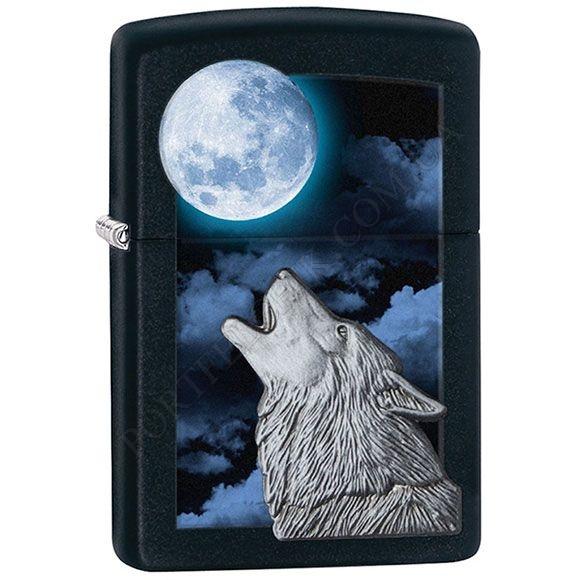 Запальничка Zippo 28879 Howling Wolf