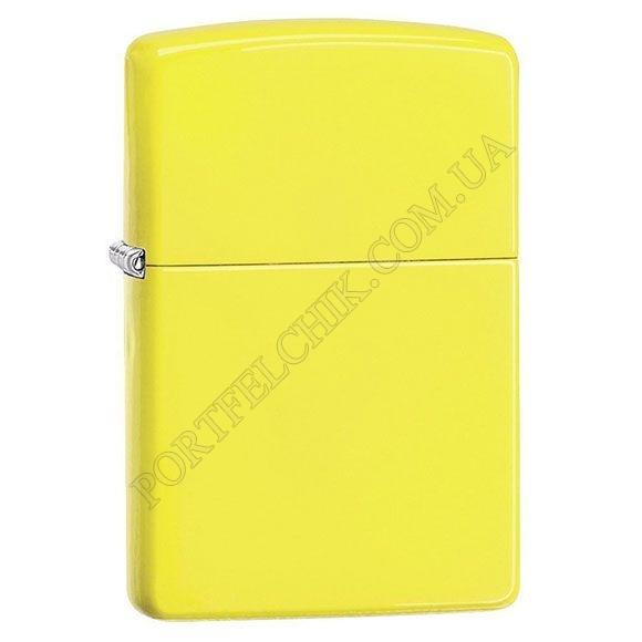 Зажигалка Zippo 28887 Neon Yellow