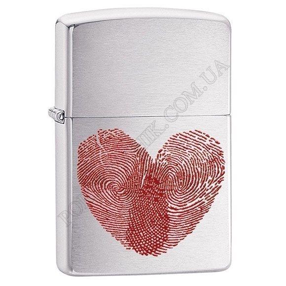 Запальничка Zippo 29068 Heart Thumbprints