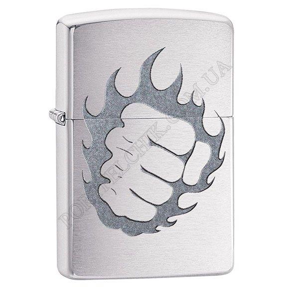 Зажигалка Zippo 29428 Tattoo Fire and Fist