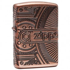 Запальничка Zippo 29523 Armor Antique Copper