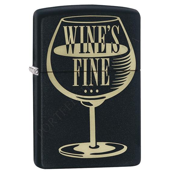 Запальничка Zippo 29611 Wine's Fine