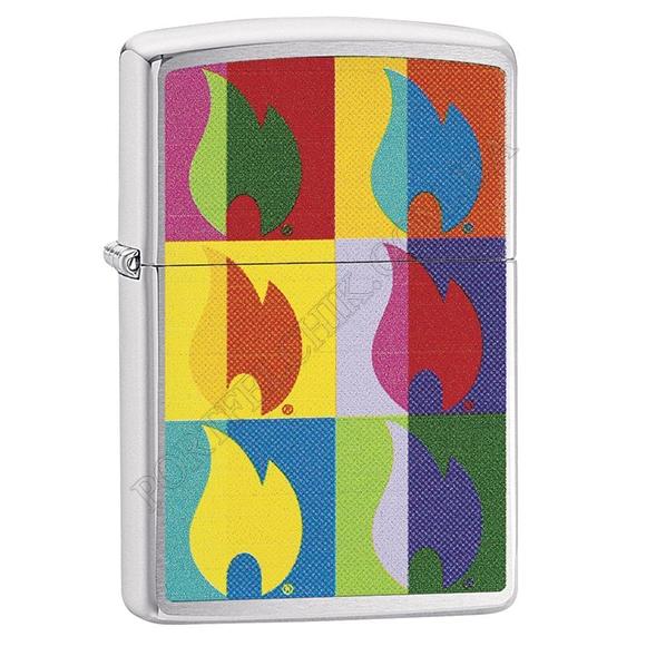 Запальничка Zippo 29623 Abstract Flame Design