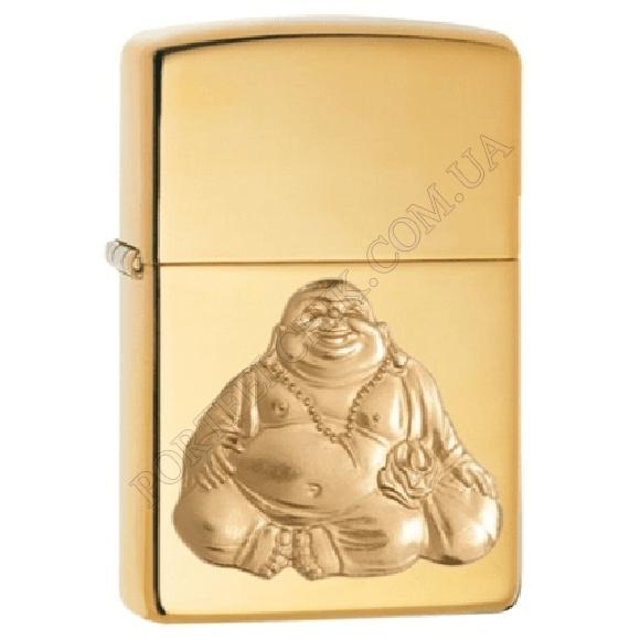 Запальничка Zippo 29626 Laughing Buddha