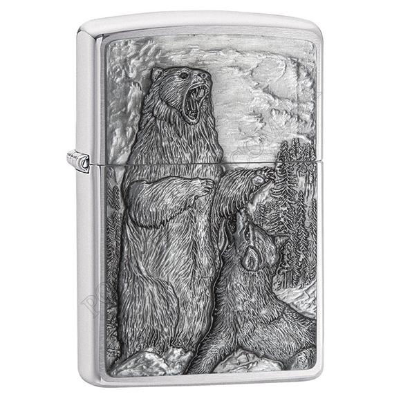 Запальничка Zippo 29636 vs Bear Wolf