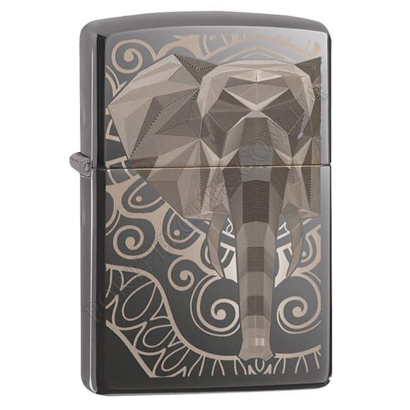 Зажигалка Zippo 49074 Elephant Fancy Fill Design