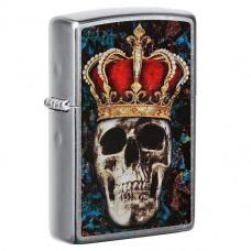 Zippo 49666 Skull King Design