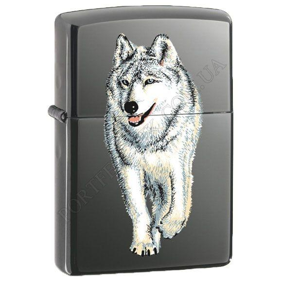 Запальничка Zippo 769 Wolf Black Ice