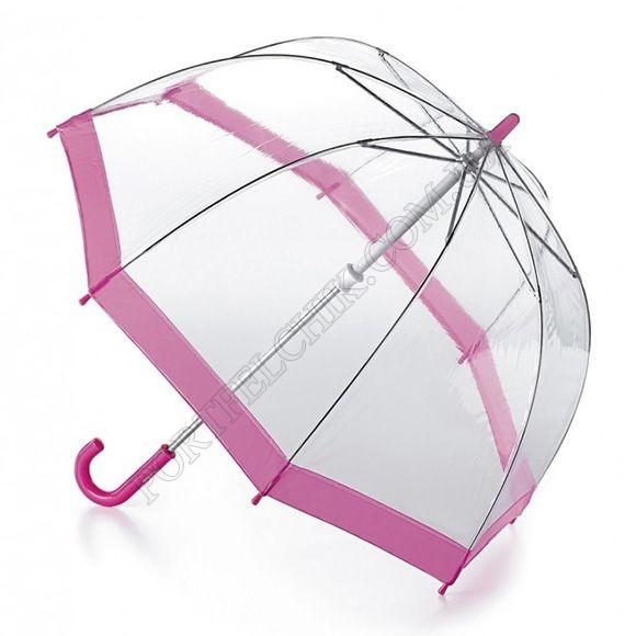 Парасолька Fulton C603 Funbrella-2 Pink рожевий дитячий