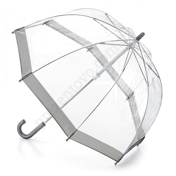 Парасолька Fulton C603 Funbrella-2 Silver сірий дитячий