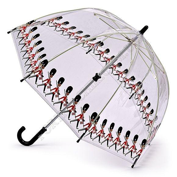 Парасолька Fulton C605 Funbrella-4 Guards сірий дитячий