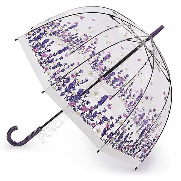 Зонт Fulton L042 Birdcage-2 Flower Field фиолетовый