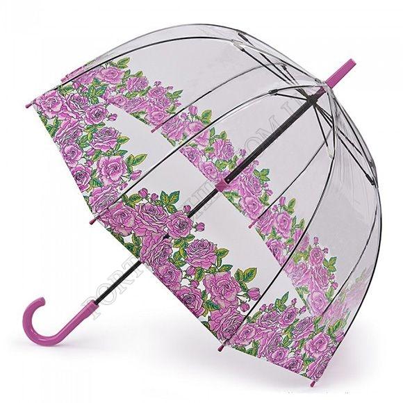 Парасолька Fulton L042 Birdcage-2 Coming up Roses рожевий жіночий