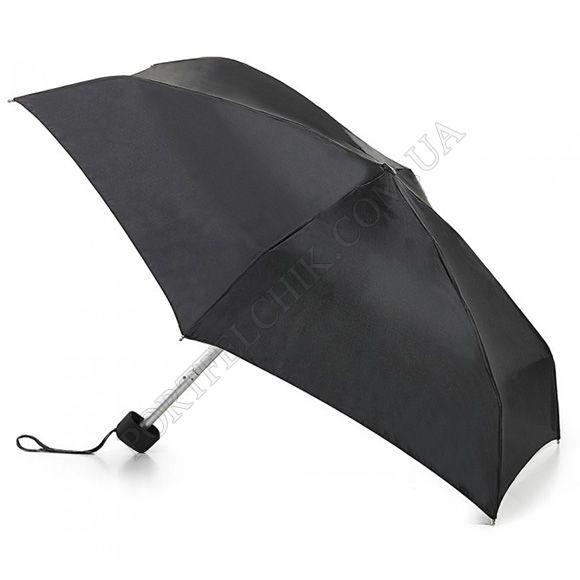 Парасолька Fulton L500 Tiny-1 Black чорний жіночий