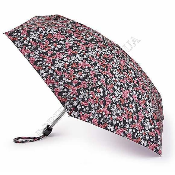 Зонт Fulton L501 Tiny-2 Floral Cluster розовый