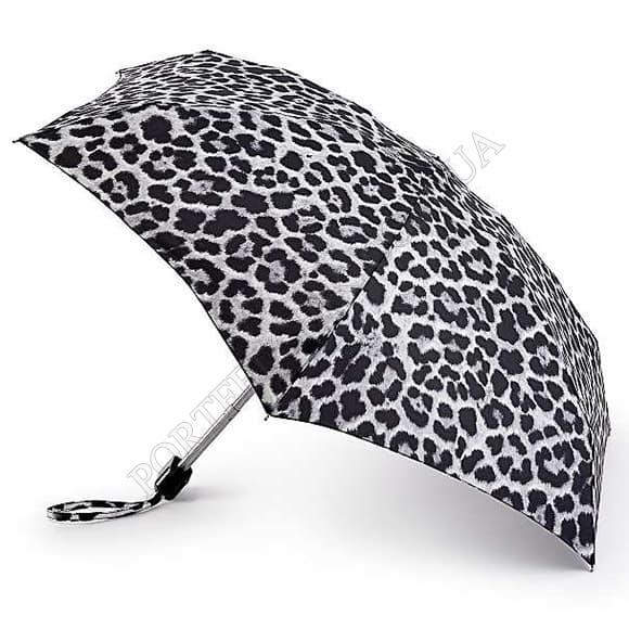 Зонт Fulton L501 Tiny-2 Mono Cheetah серый