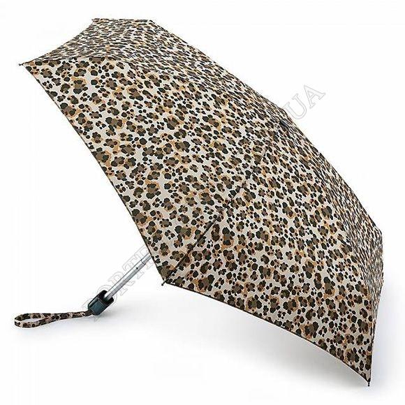 Парасолька Fulton L501 Tiny-2 Wild Cat коричневий жіночий