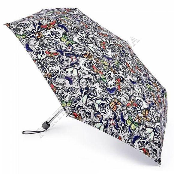 Парасолька Fulton L553 Superslim-2 Butterfly N Roses мультіколор жіночий
