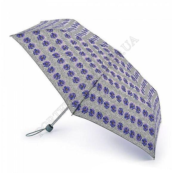Парасолька Fulton L553 Superslim-2 Tropical Stipe синій жіночий