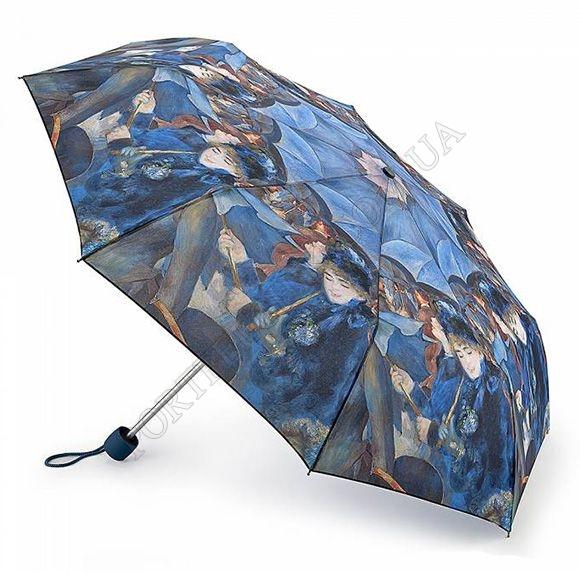 Парасолька Fulton L849 National Gallery Minilite-2 The Umbrellas синій жіночий