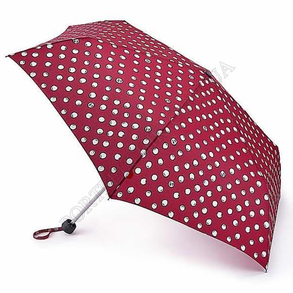 Зонт Fulton L869 Minilite-2 Polka Pearls красный