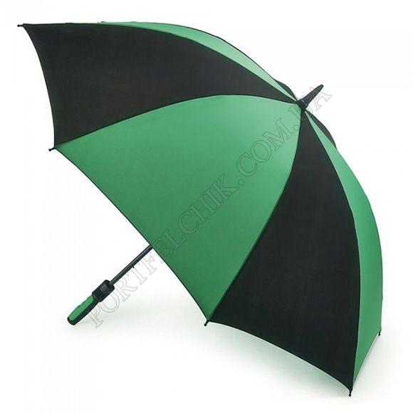 Парасолька Fulton S837 Cyclone Black Green чорний / зелений унісекс