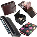 Гаманці, портмоне, затискачі для грошей, монетниці