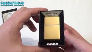 Зажигалка Zippo 169 Armor High Polish Brass