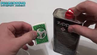 Как заправить бензиновую зажигалку Zippo