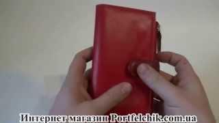 Женский кошелек Visconti RB-100 Red