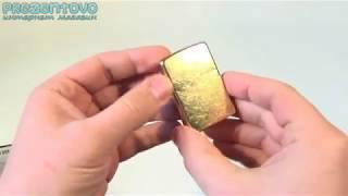 Зажигалка Zippo 207 G Gold Dust
