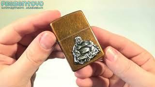 Зажигалка Zippo 21195 Buddha Emblem Toffee