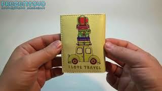 Обложка для прав и Id паспорта ТМ Passporty D 62