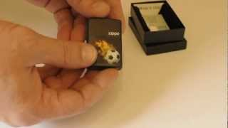 Зажигалка Zippo 28302 Soccer Black Matte