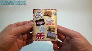 Обложка для прав и Id паспорта ТМ Passporty D 07 - YouTube