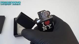 Зажигалка Zippo 24798 I Love New York Black Matte