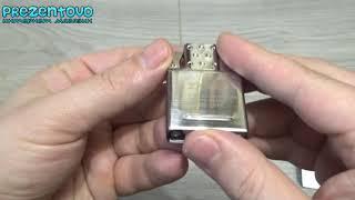 Газовый вставной блок Инсерт Zippo 65827 Butane Lighter Insert Double Torch