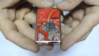 Зажигалка Zippo 24936 Zodiac Virgo High Polish Chrome