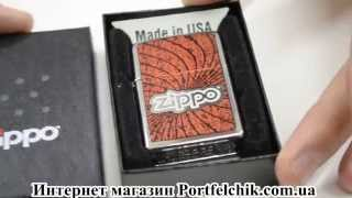 Зажигалка Zippo 24804 Spiral High Polish Chrome