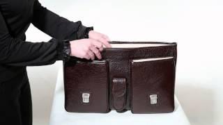 Портфель кожаный Gufo 5050 019