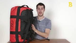 Highlander Lomond Duffle 65l - productvideo - review - Backpackspullen.nl