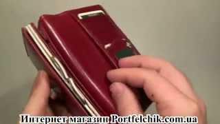 Женский кошелек Visconti MZ-12 Ita Red