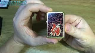 Зажигалка Zippo 24193 Retro Flame Gold Dust