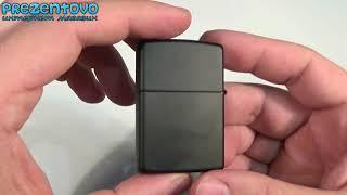 Зажигалка Zippo 24710 Creed Black Matte