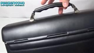 Портфель кожаный Petek 824-000-01