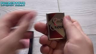 Зажигалка Zippo 28192 80th Anniversary Herringbone Sweep