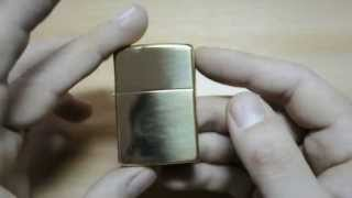 Зажигалка Zippo 254 B High Polish Brass