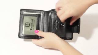 Кошелек женский Tacchini IT 222 BL - YouTube