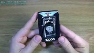 Зажигалка Zippo 28414 Jim Beam Flask Set