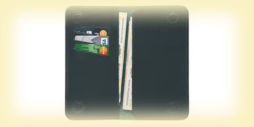 Довге чоловіче портмоне зображення картинка